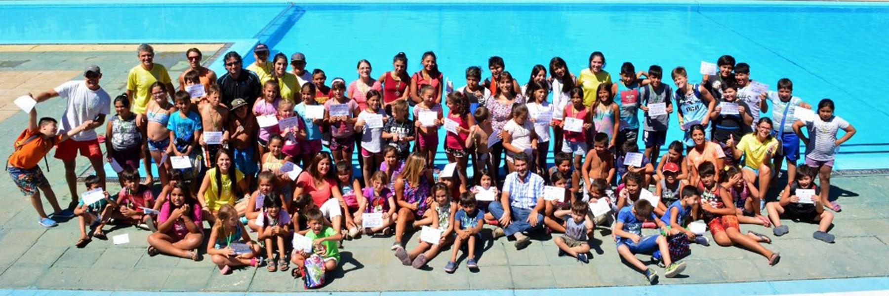 Más de cien chicos concluyeron exitosamente la Colonia de Vacaciones en Puerto